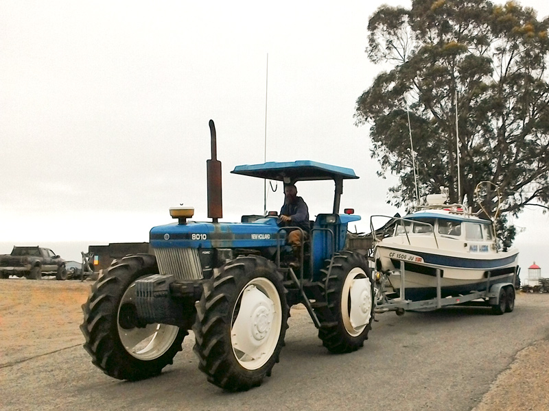 Shelter Cove Tractor